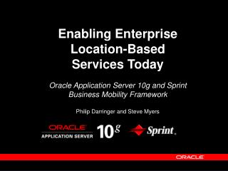 Enabling Enterprise Location-Based Services Today