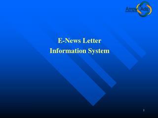 E-News Letter Information System
