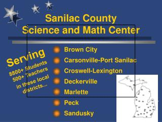 Sanilac County  Science and Math Center