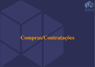 Compras/Contratações
