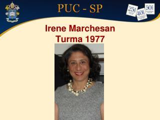 Irene Marchesan Turma 1977