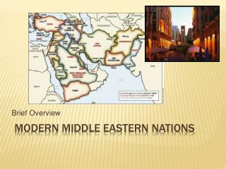 Modern Middle Eastern Nations