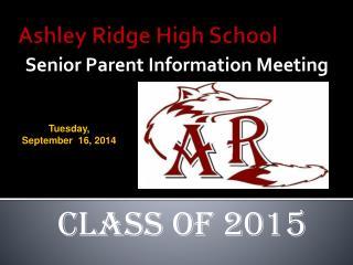Ashley Ridge  High School
