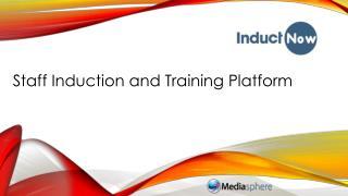 Staff Induction and Training Platform