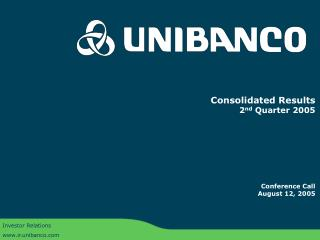 Investor Relations ir.unibanco