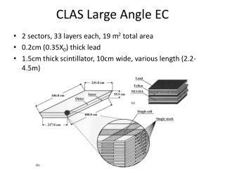 CLAS Large Angle EC
