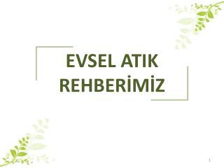 EVSEL ATIK REHBERİMİZ