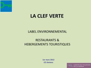 1er mars 2012 CCI Amiens