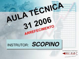AULA TÉCNICA 31 2006 ARREFECIMENTO