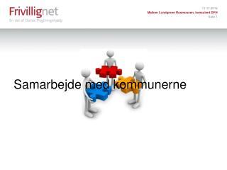 Samarbejde med kommunerne