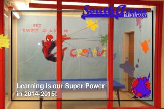 Learning is our Super Power  in 2014-2015!