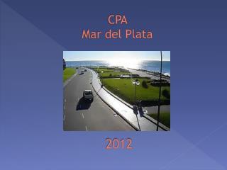 CPA  Mar del Plata