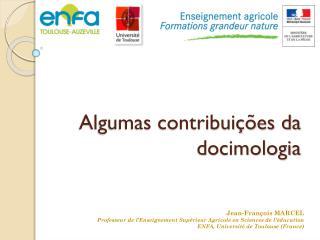Algumas contribuições da docimologia