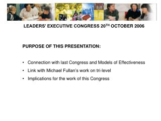 LEADERS' EXECUTIVE CONGRESS 20 TH  OCTOBER 2006