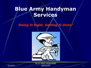 Blue Army Handyman Services