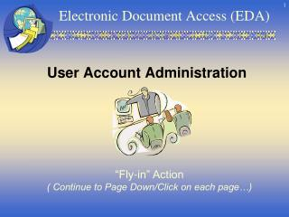 Electronic Document Access (EDA)