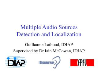 Multiple Audio Sources Detection and Localization