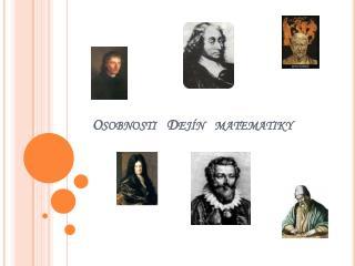 Osobnosti   Dejín   matematiky