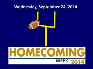 Wednesday, September 24, 2014