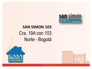 SAN SIMON  103 Cra. 19A con 103 Norte  - Bogotá