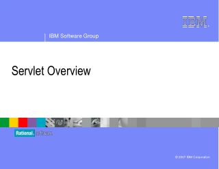 Servlet Overview