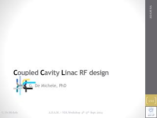 C oupled C avity L inac RF design
