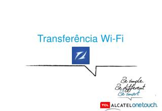 Transferência Wi-Fi