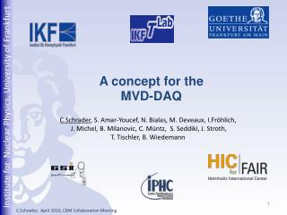 A concept for the MVD-DAQ