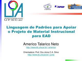 Linguagem de Padrões para Apoiar o Projeto de Material Instrucional para EAD
