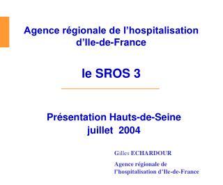 Pr�sentation Hauts-de-Seine  juillet  2004