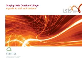 Staying Safe Outside College