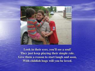 Misiune: Zambetul unor copii
