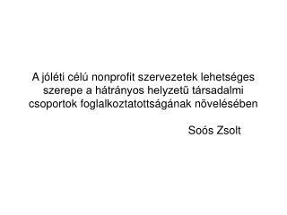 Soós Zsolt