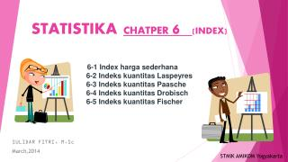 STATISTIKA CHATPER  6 (INDEX)