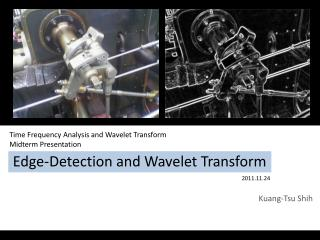 Edge-Detection and Wavelet Transform