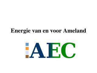 Energie van en voor Ameland