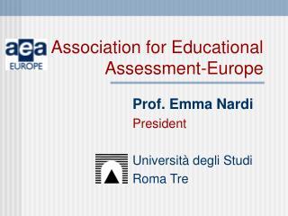 Association for Educational Assessment-Europe
