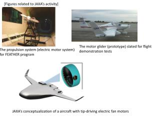 The propulsion system (electric motor system) for FEATHER program
