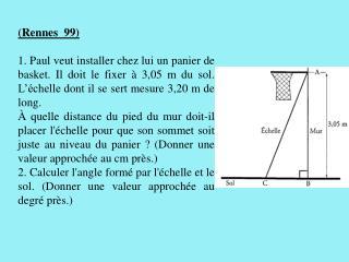 (Rennes  99)