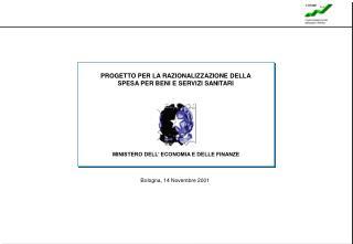 Bologna, 14 Novembre 2001