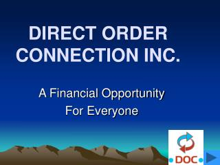 DIRECT ORDER CONNECTION INC.