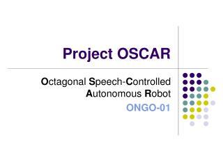 Project OSCAR