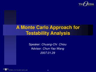 A Monte Carlo Approach for Testability Analysis