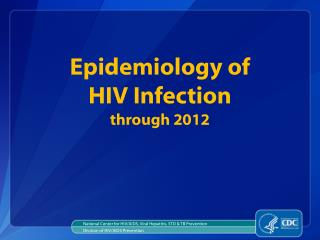 National Center for HIV/AIDS, Viral Hepatitis, STD & TB Prevention