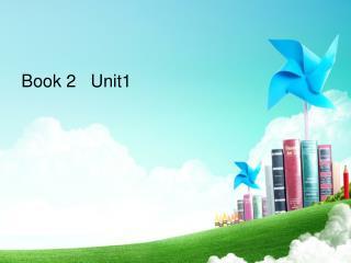 Book 2   Unit1
