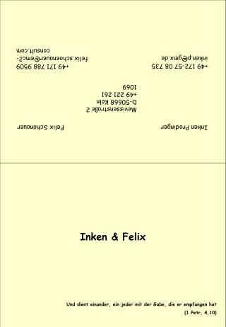 Inken & Felix