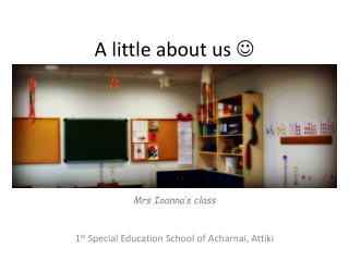 A little about us  