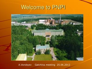 Welcome to PNPI