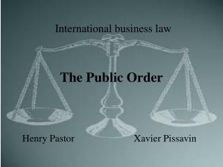 The Public Order