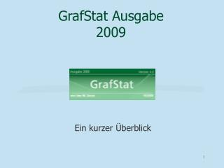GrafStat Ausgabe 2009